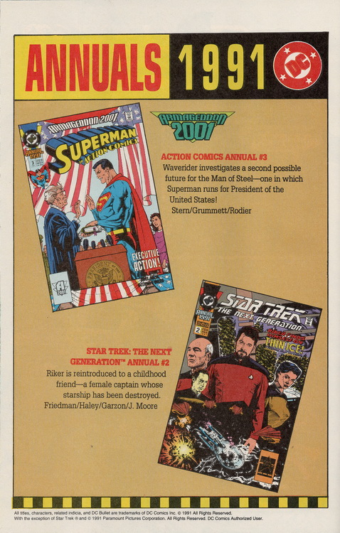 Outlaws 2 Annuals 1991
