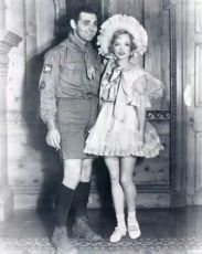 Clark Gable and Marion Davies