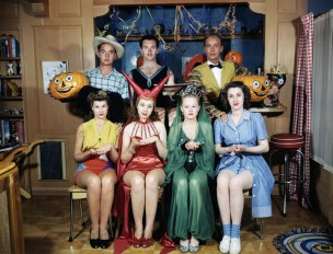 Jane Withers' Halloween party, 1948