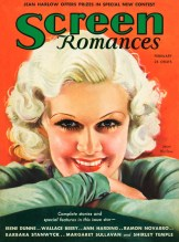 Cover girl Jean Harlow