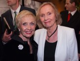 Jane Powell and Eva Marie Saint at the Vanity Fair party Thursday at the TCM Classic Film Festival, 2011.