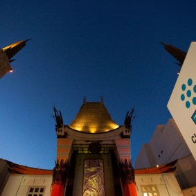 Grauman's Chinese Theatre during the 2010 TCM Classic Film Festival in Hollywood, California. 4/23/10 ph: John Nowak
