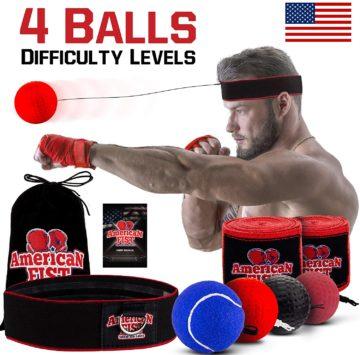 American Fist Best Boxing Reflex Balls