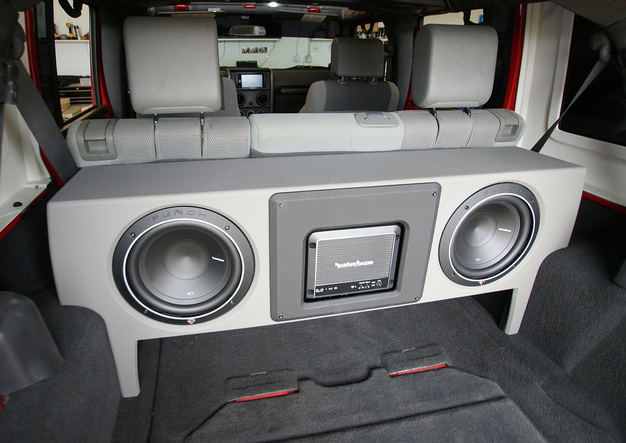 Jeep Wrangler Jk Subwoofer Box Enclosure