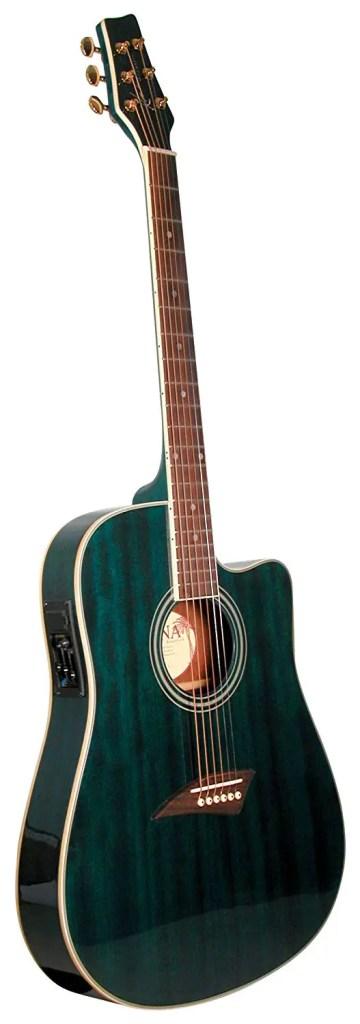 Kona K2TBL Acoustic guitar-electric guitar under 300, best electric guitar amp under 300
