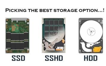 SSD-SSHD-HDD