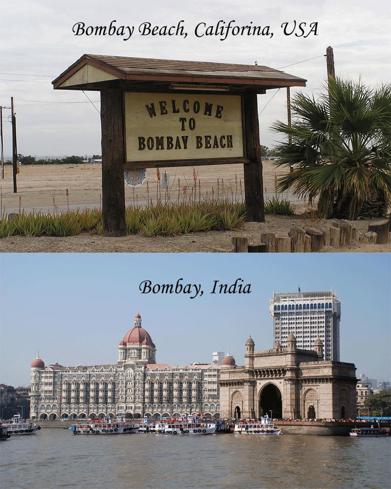 similar city names