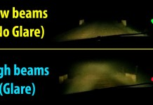 highbeam and lowbeam
