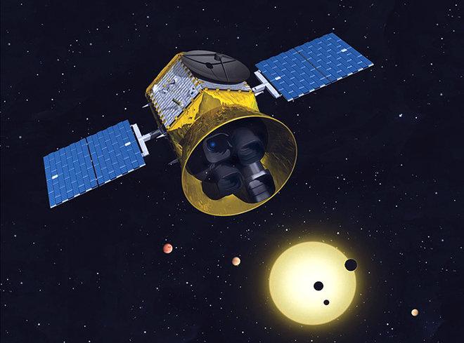 TESS(Transiting Exoplanet Survey Satellite)