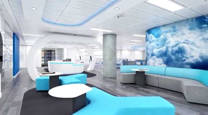 tech office design