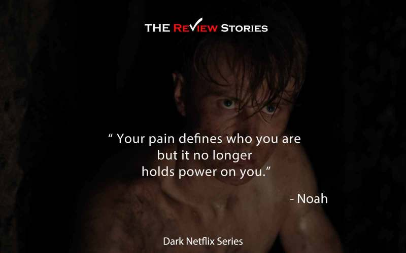 Your pain defines who you are but it no longer holds power on you.