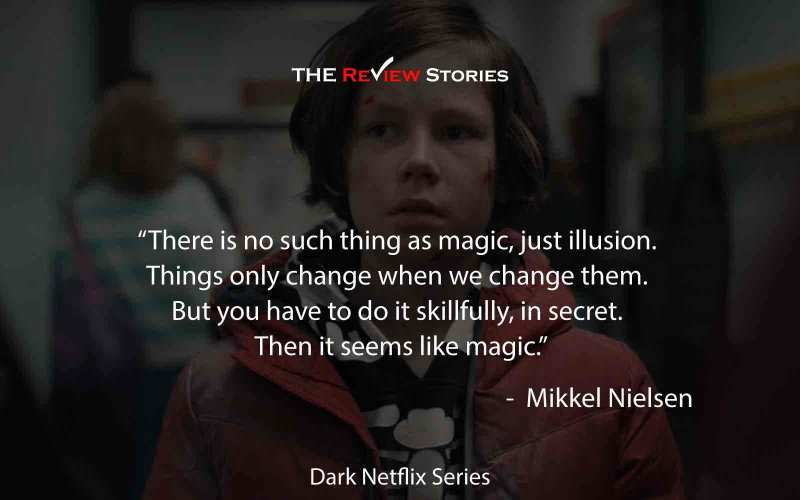 There is no such thing as magic, just illusion. Things only change when we change them. But you have to do it skillfully, in secret. Then it seems like magic