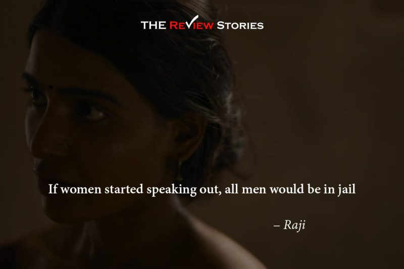 If women started speaking out, all men would be in jail