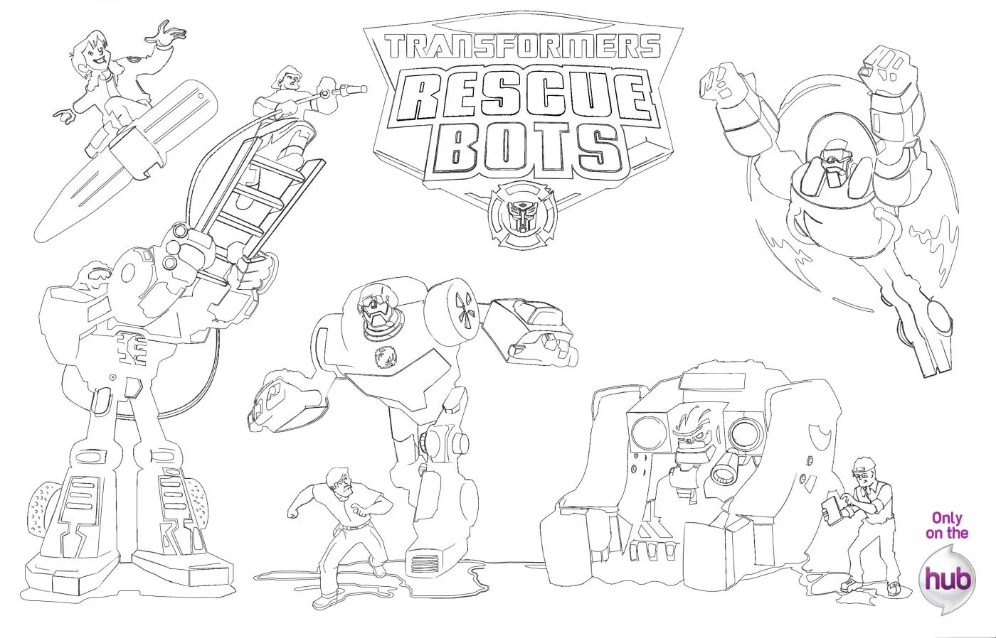 Transformersrescue Bots Coloringpage Final