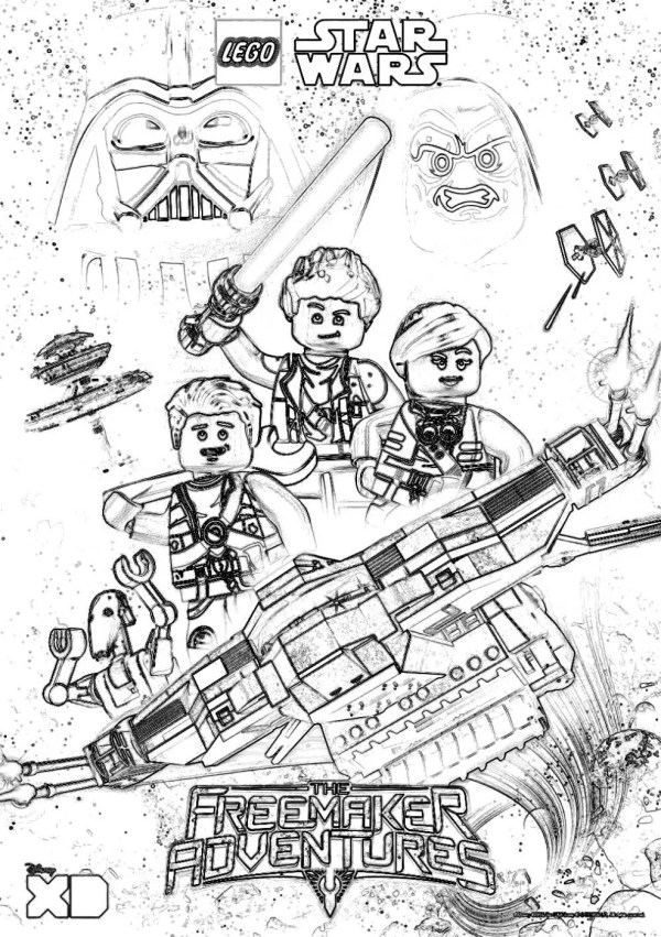 legos coloring pages # 29