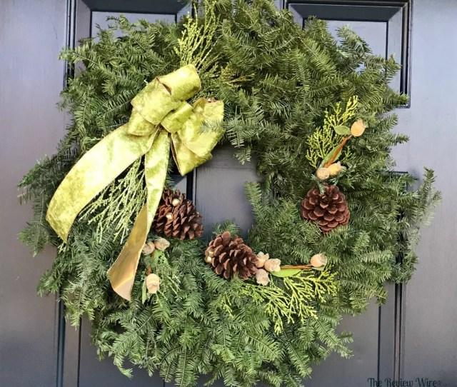 Balsam Fir Wintergreen Wreath