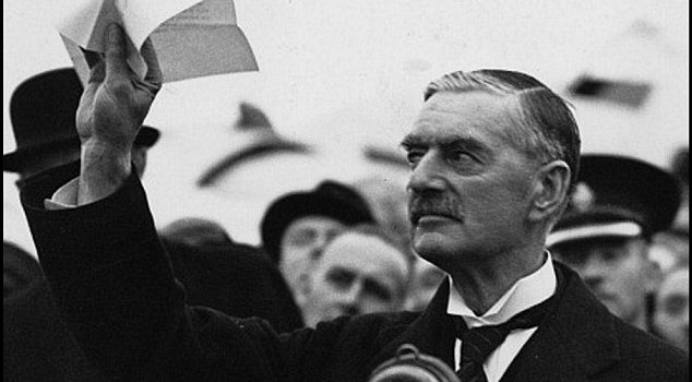 North Korea crisis is the result of Neville Chamberlain actions.
