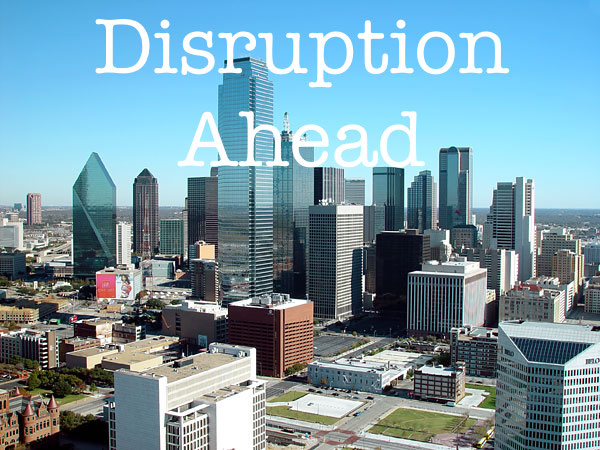 Technology is dramatically disrupting cities future taxes.