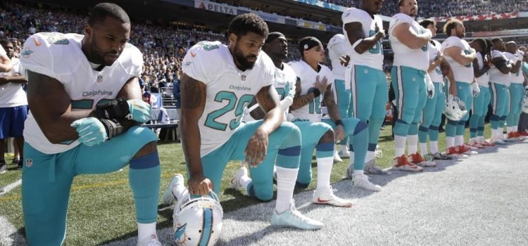 NFL's Actions During National Anthem are Despicable, Time to Tune Out
