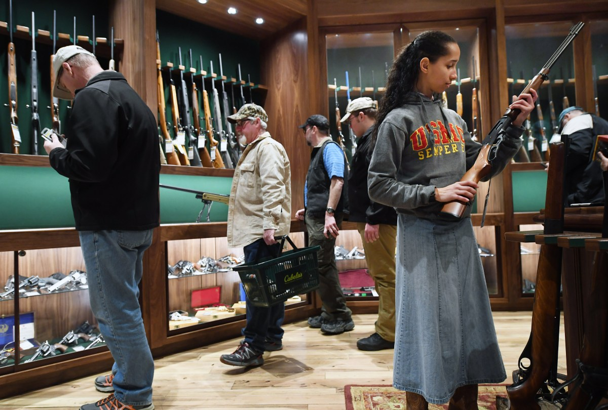 Caution: Approaching The Siren Call of Government Control On Gun Sales