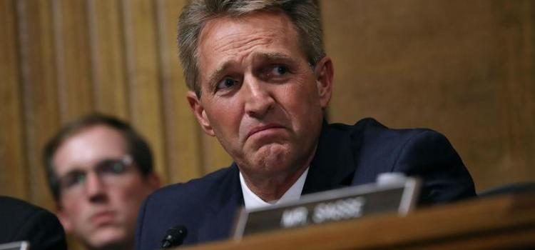 Jeff Flake Sets The U.S. Senate On Treacherous Path