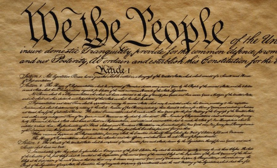 "The Constitution Has Failed? It's Merely A ""Parchment Barrier."" Something Else Has"