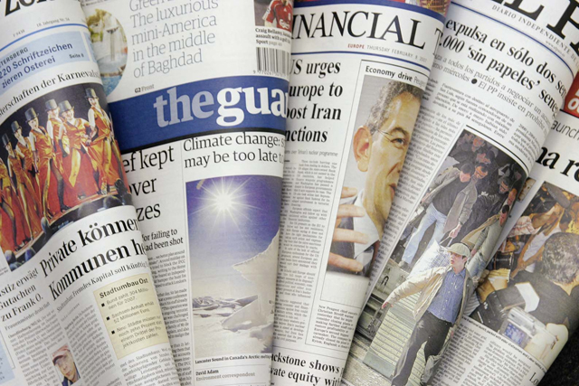 Newspapers Are Collapsing, And They're Not Alone
