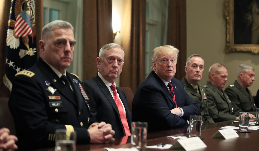 Generals Attack Trump as Democrats Plead for U.N. Interference