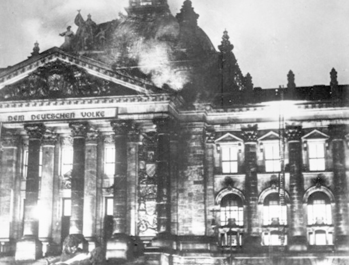 The Capitol Riot And The Reichstag Fire: American Leftists And Nazis