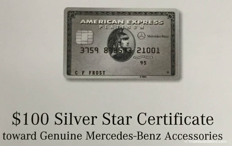 Beautiful 100 Mercedes Benz Gift Certificate Amex Platinum Best Use The