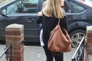 Review: PacaPod Jasper Leather Baby Changing Bag