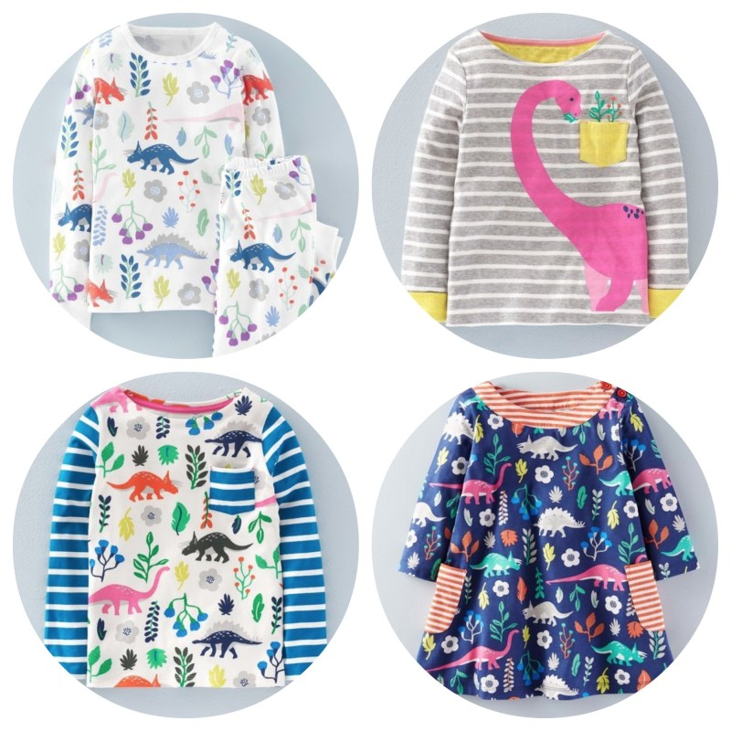Boden dinosaur clothes for girls