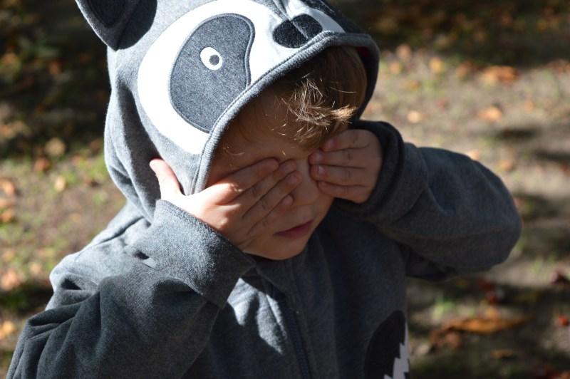JoJo Maman Bebe boys' raccoon hoodie