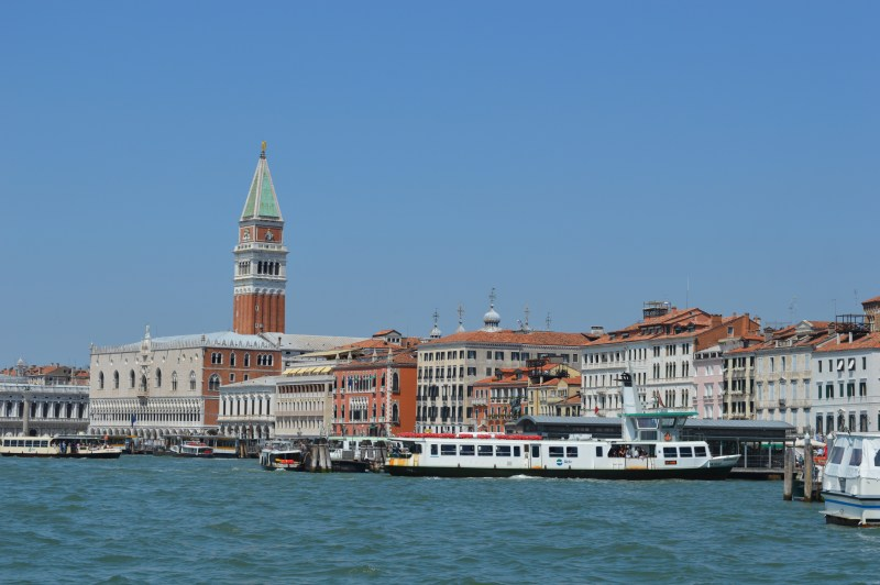 Water bus to Venice