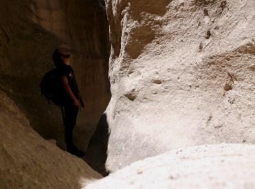 Wandering through Kapadokya's gorges