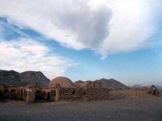 Ancient zoro-astrian graveyard, Dakmeh, Yazd