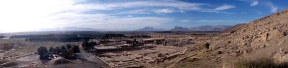 Panorama, Takht-e Jamshid