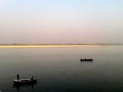Boats on the holy Ganga, Varanasi, Uttar Pradesh