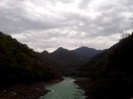 Himalayan foothills around Rishikesh, Uttarakhand