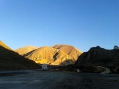 Cold mountains around Gümüshane