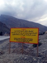 Only possible for 4WD's, Wadi as-Sahtan