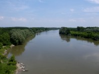 Danube at the Romanian/Bulgarian border