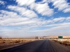 Empty road, Khur