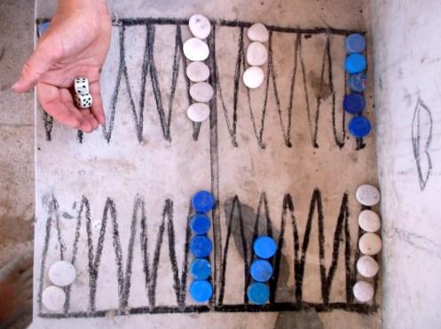 Upcycle backgammon, Mughsayl