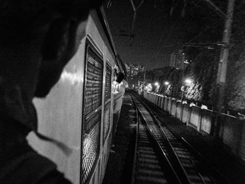 Mumbai roaming at night (picture by PB)