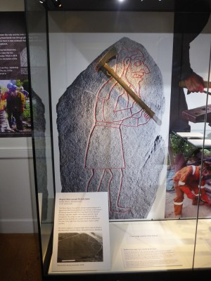 The reconstructed axe created by SSW