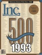 Inc 500 in 1993