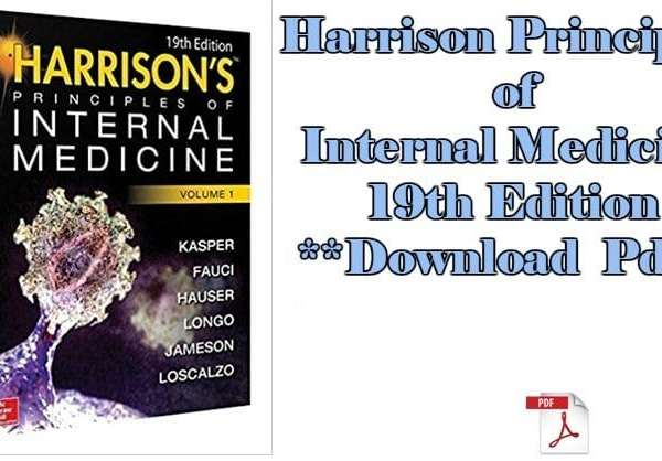 Harrison's principle of internal medicines 19th edition pdf