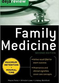 Deja review family medicine, 2nd edition pdf