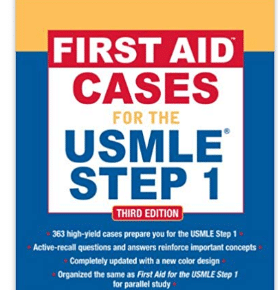 First aid cases for the USMLE step 1, third edition (first aid USMLE) 3RD Edition, Kindle Edition PDF